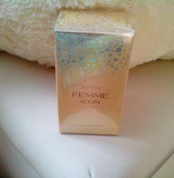 Perfume in packaging, new