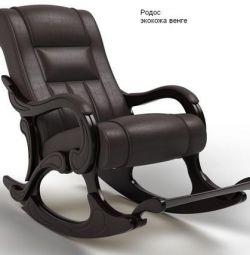 Αναπαλαιωμένη καρέκλα με πάγκο