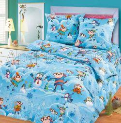 1,5 спальне постільна білизна