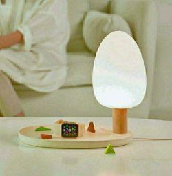 LED-лампас функцией беспроводной зарядки