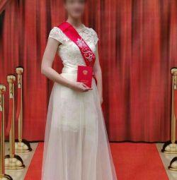 Φόρεμα για χορό 2 σε 1 για 44 ρούβλια.
