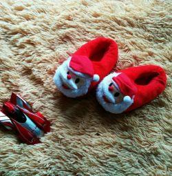 papuci acasă
