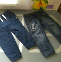 Pantaloni și jeansi 92-98