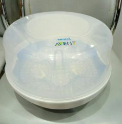 Avent sterilizer for microwave