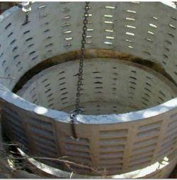 Inele pentru produse din beton și componentele lor