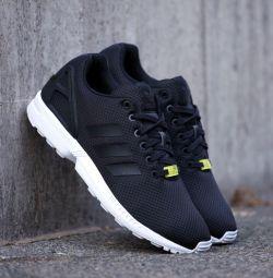 Adidas Flux Black White