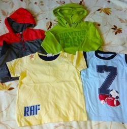 Children's clothes package, size 104