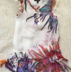 Φόρεμα από μετάξι Roberto Cavalli 6 χρόνια