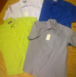 Рубашки мальчиковые. Рост 146