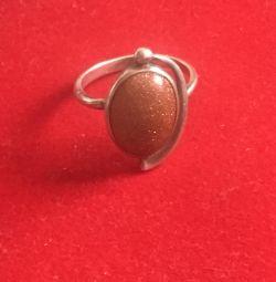 Δοκιμή δαχτυλιδιού αργύρου 925.