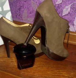Ανδρικές μπότες / μπότες nat p39 δέρμα