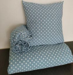 Sewing baby bedding
