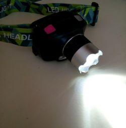 Headlamp (new), with motion sensor.