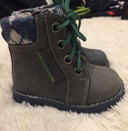 Μπότες ντεμι Κατοφέ