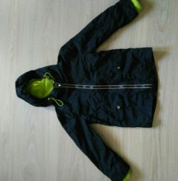 Jacket on a warm axis r.116