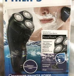 Περιστροφική ξυριστική μηχανή Philips aquatouch at620 / 14