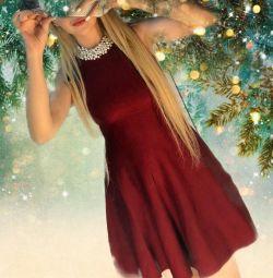 Yeni yıl tatili elbise