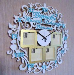 Настенные фамильные часы