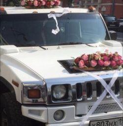 Decorarea masinilor de nunta
