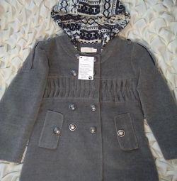 New baby coat. Top baby clothes.
