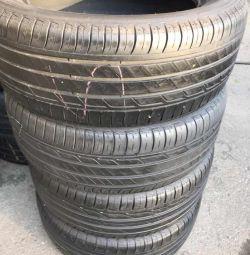 Комплект летних шин Michelin. Износ 15%