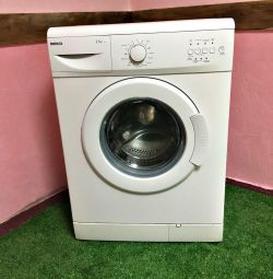 Beco washing machine, narrow. Guarantee. Delivery