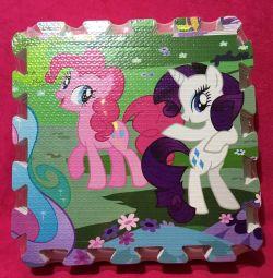 Rug puzzle Little Pony (Micul meu ponei) Nou