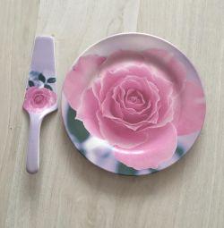 Kek tabağı