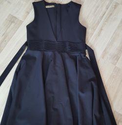School dress.