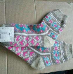 Çoraplar yeni yün 38 beden