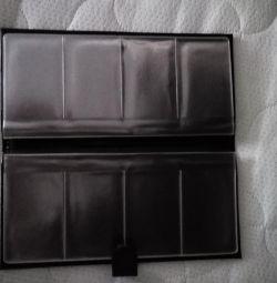 Κάρτα από γνήσιο δέρμα ΝΕΟ