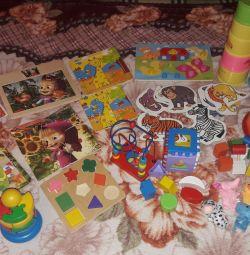 Bebekler için eğitici oyuncaklar