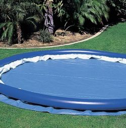 Inflatable round pool. Hit. Summer 2019