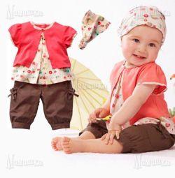 Summer costume for girls