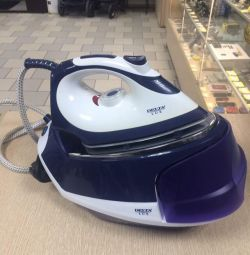 The iron with the DELTA LUX DL-856PS steam generator