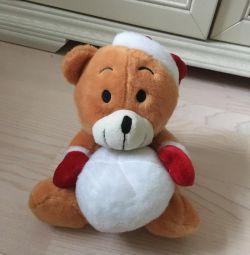 Игрушка медведь медвежонок сумка