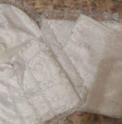 Pătură pentru evacuare alb și roz Iarna