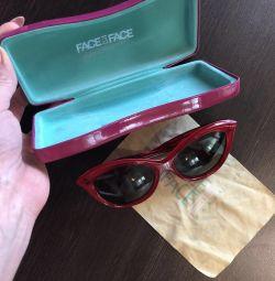 Güneş gözlükleri Fransa yüz yüze