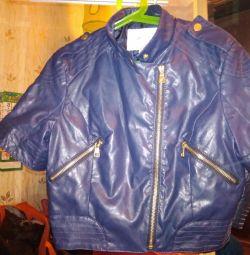 Куртка из зам.кожи