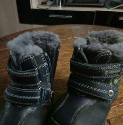 Cizmele sunt iarna.