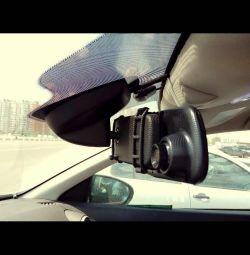 Mirror recorder 2 cameras D02