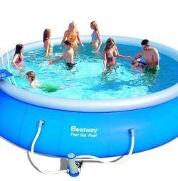 Large swimming pool (in set).
