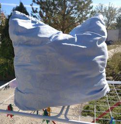 Подушка б / у 70х70 лебединий пух
