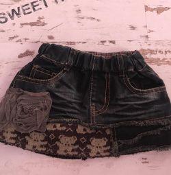джинсова спідниця