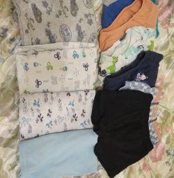 T-shirts, panties
