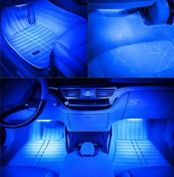 Interior lighting 12LED50 - blue high-brightness