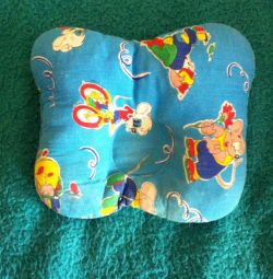 Orthopedic pillow for baby