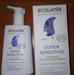 Крем-мыло для интимной гигиены super sensitive