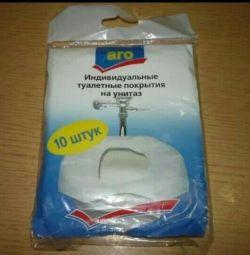 Индивидуальные туалетные покрытия на унитаз