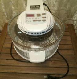 Φούρνος καύσης Easy Cook Turbo πολλαπλών φούρνων
